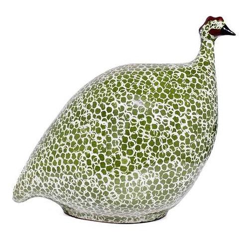 Guinea Fowl Green M