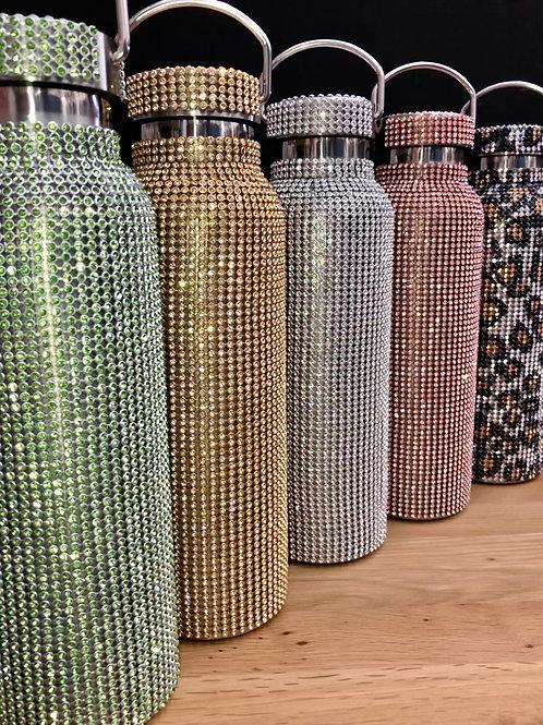 Diamonte Stainless Steel Water Bottles