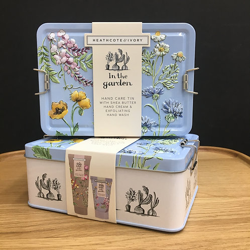 'In the Garden' Hand Care Tin