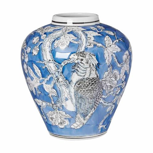 Cockatoo Print Vase