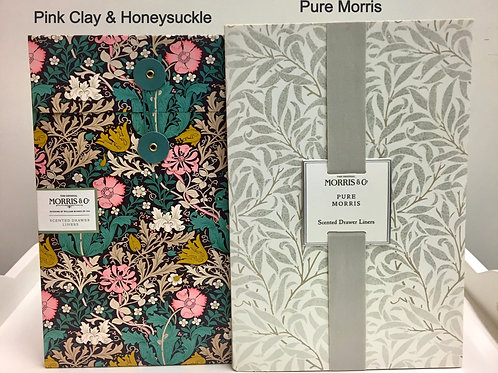 Scented Drawer Liners ~ Morris & Co. Assorted