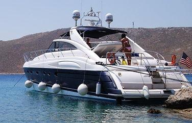 Yacht @ Mykonos Island