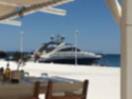 Princes V65 @ Kalafati Beach Myconos