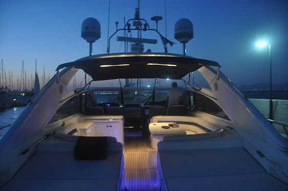 Interior Yacht lights Princess V65