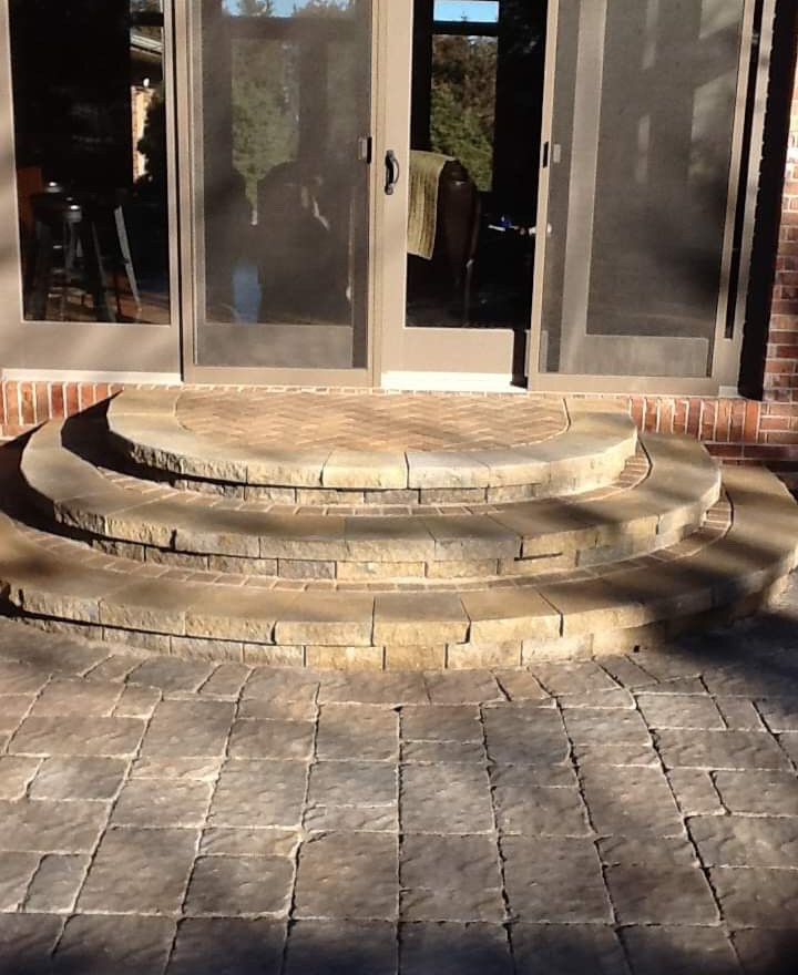 Patio and steps reno!