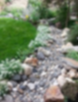 Dry river stream!