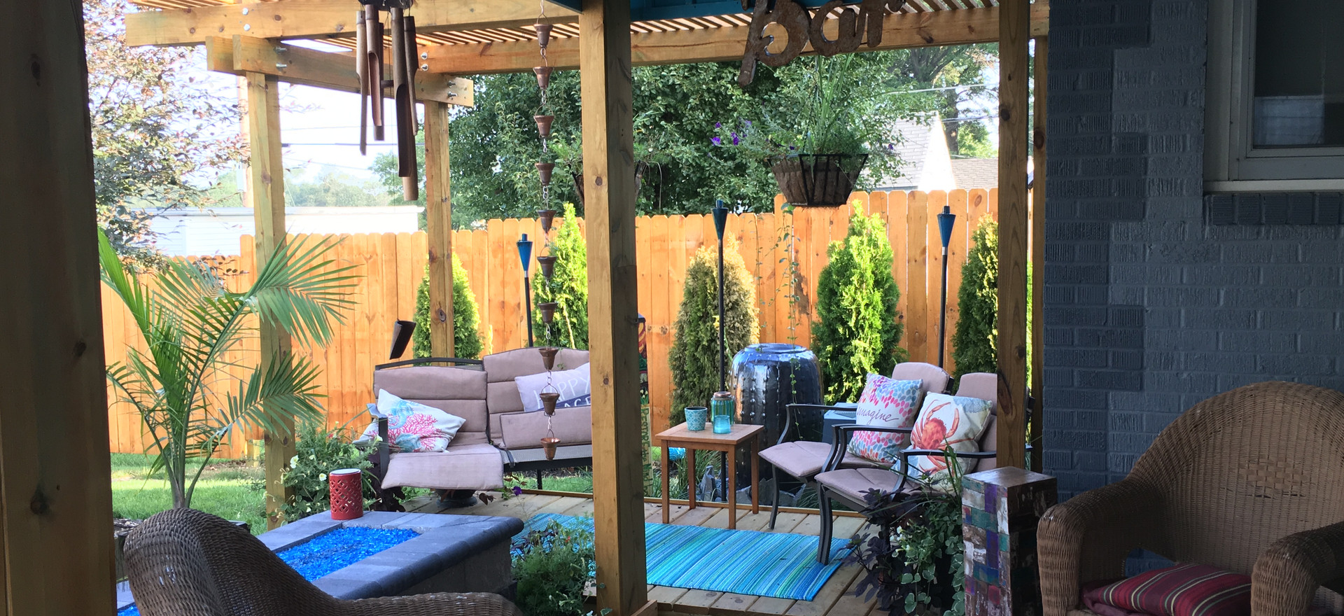 Huge bonus for this backyard!