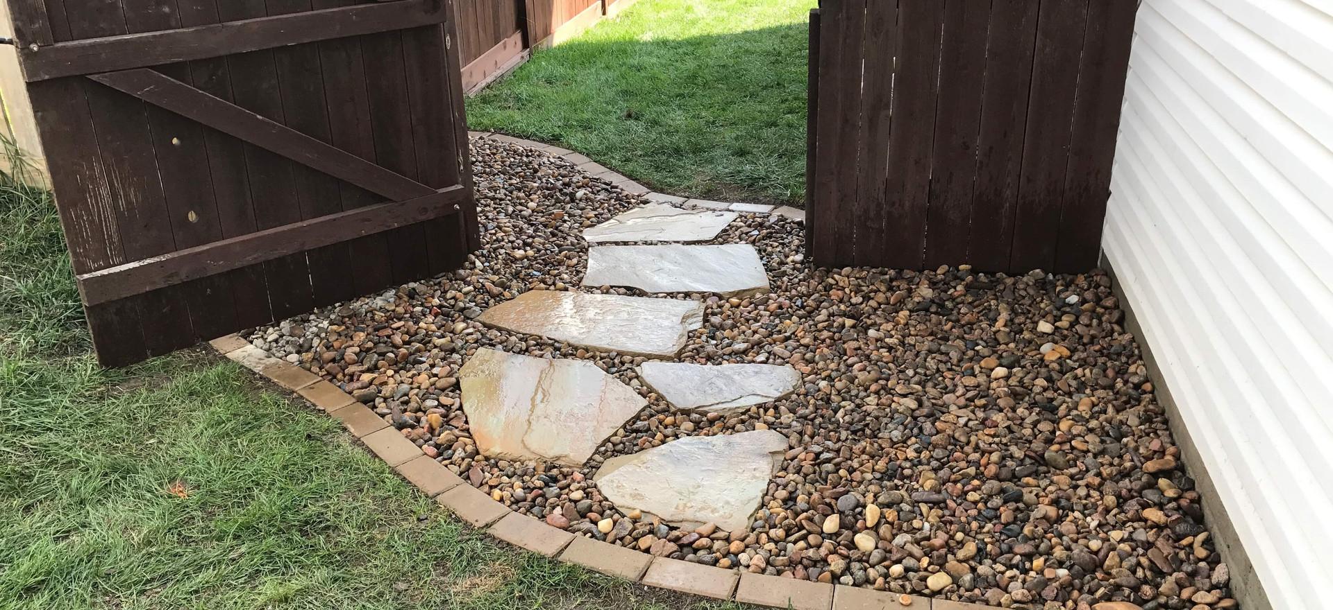 Simple & elegant walkway!