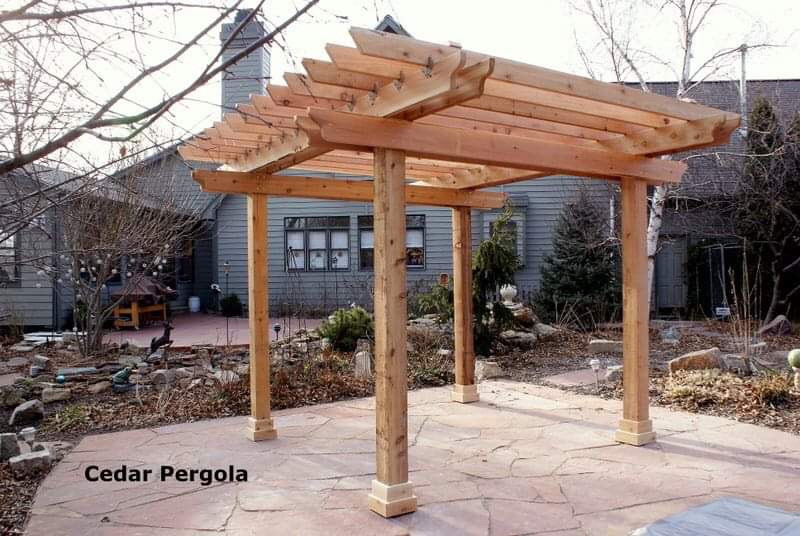Beautiful sturdy pergola!