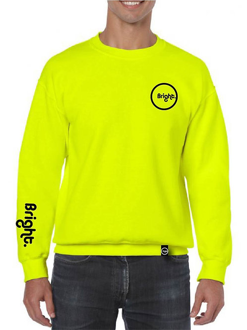 Rounded Sweater (Neon Yellow)