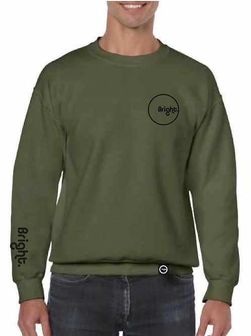 Rounded Sweater (Military Green)