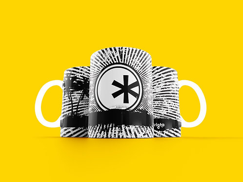 Bright. Future Coffee Mug B/W