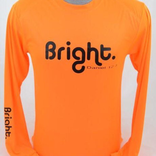 Classic Rashguard Neon Orange / Black