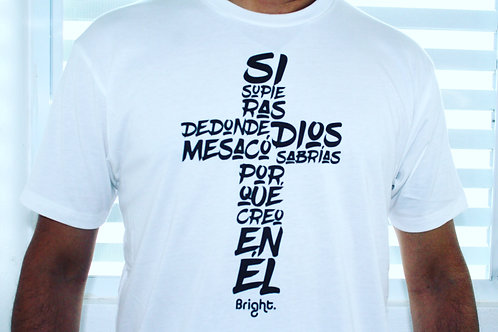 Si supieras shirt (White)