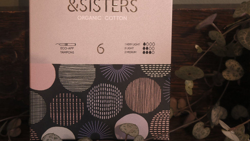 &SISTERS Eco-app Tampons x6
