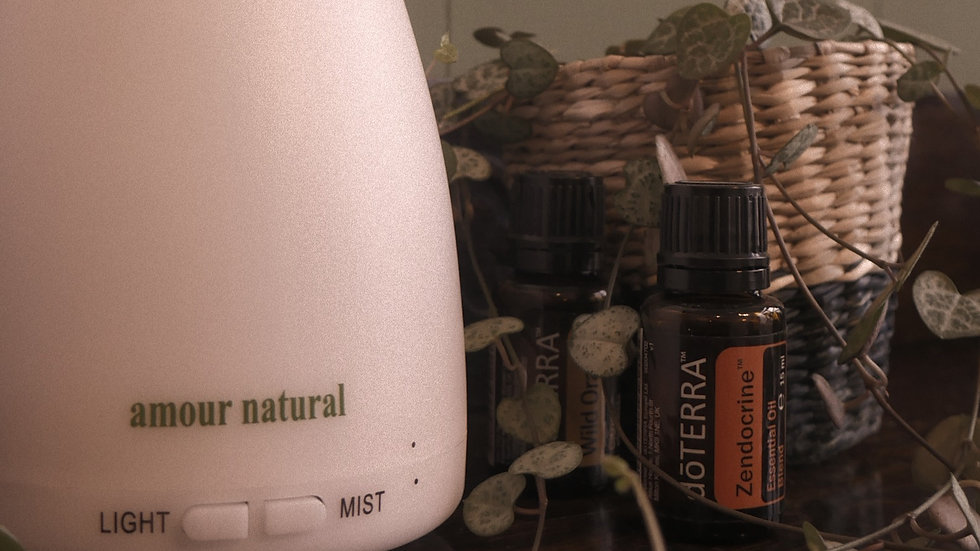 Essential Oil Diffuser (Colour Changing)