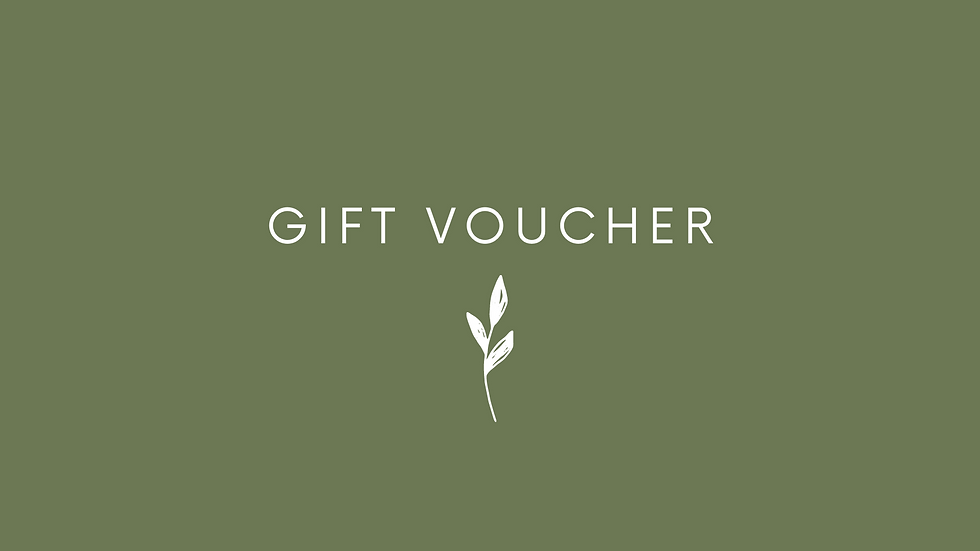 Nutritional Therapy Gift Voucher