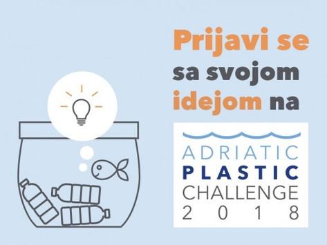 Otvorene prijave za Adriatic Plastic Challenge