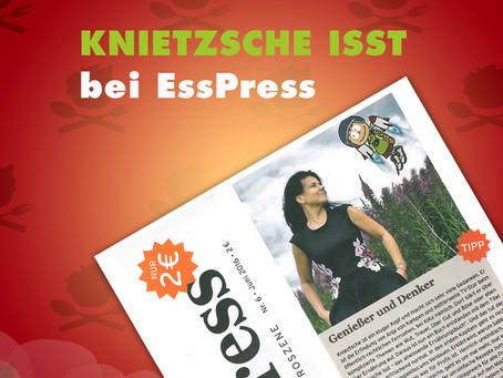 KNIETZSCHE ISST in EssPress