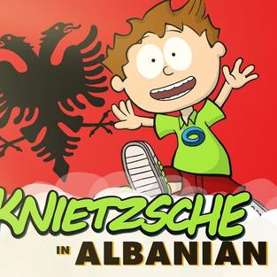 Knietzsche in Albanian