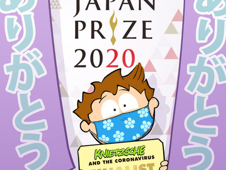 YIPPIE YIPPIE JAPAN PRIZE!!!