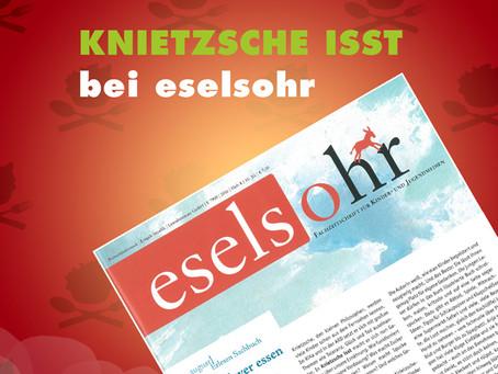 KNIETZSCHE ISST in Eselsohr!