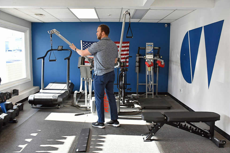 CW Total Performance has top of the line keiser equipment