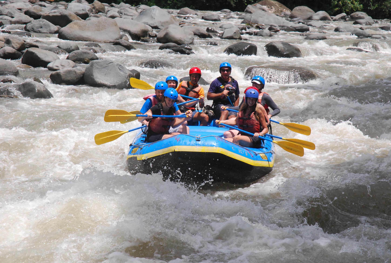 Class II & III White Water Rafting