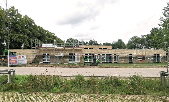 Baustelle Klinker Kita Metas Kinnerhus Bremen Oberneuland Bruns und Hayungs Architekten