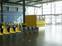 Umbau Ryanair Terminal Halle E
