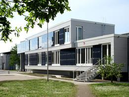 Neubau Verwaltungsgebäude Kläranlage
