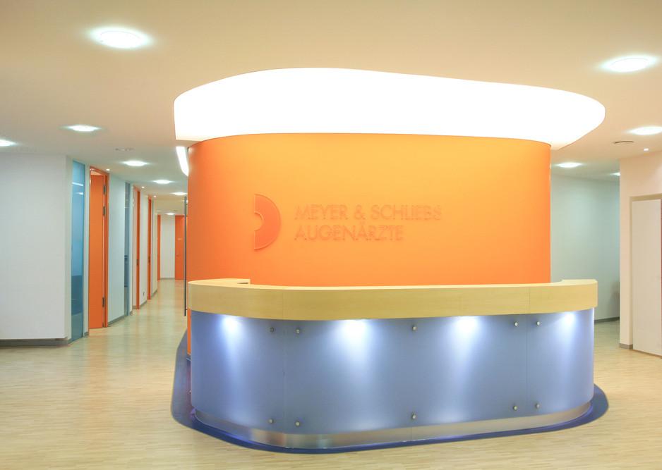 Neubau Gemeinschaftspraxis für Augenheilkunde