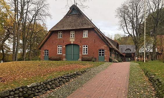 Reetdach Sanierung Rathaus Worpswede Bre