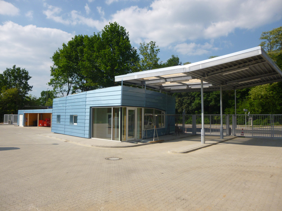 Neubau Recyclingstation