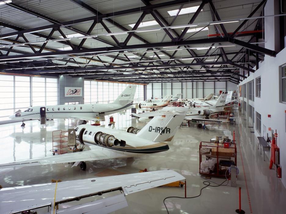 Neubau Luftwerft Atlas Air Service