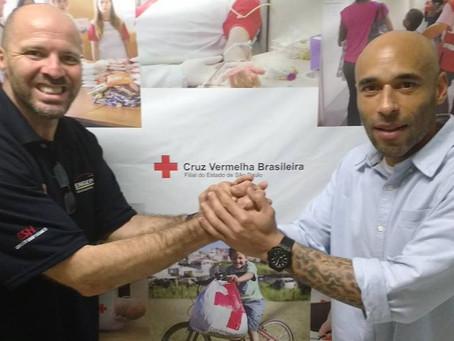 Cruz Vermelha & Instituto Brazolin levarão basquete aos refugiados