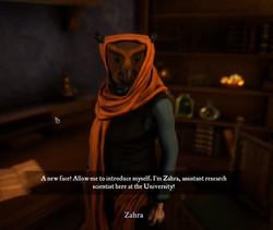 Zahra / Nessa / Liliana / Blacksmith
