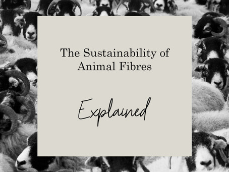 The Sustainability of Animal Fibres Explained