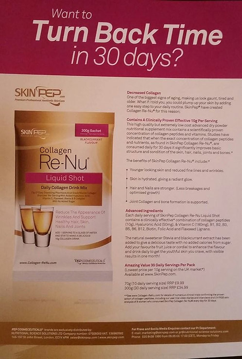 Collagen RE-NU & Anti Aging Pamper Party
