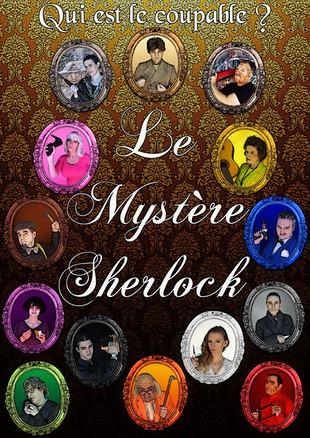 2017 - Affiche Le Mystère Sherlock