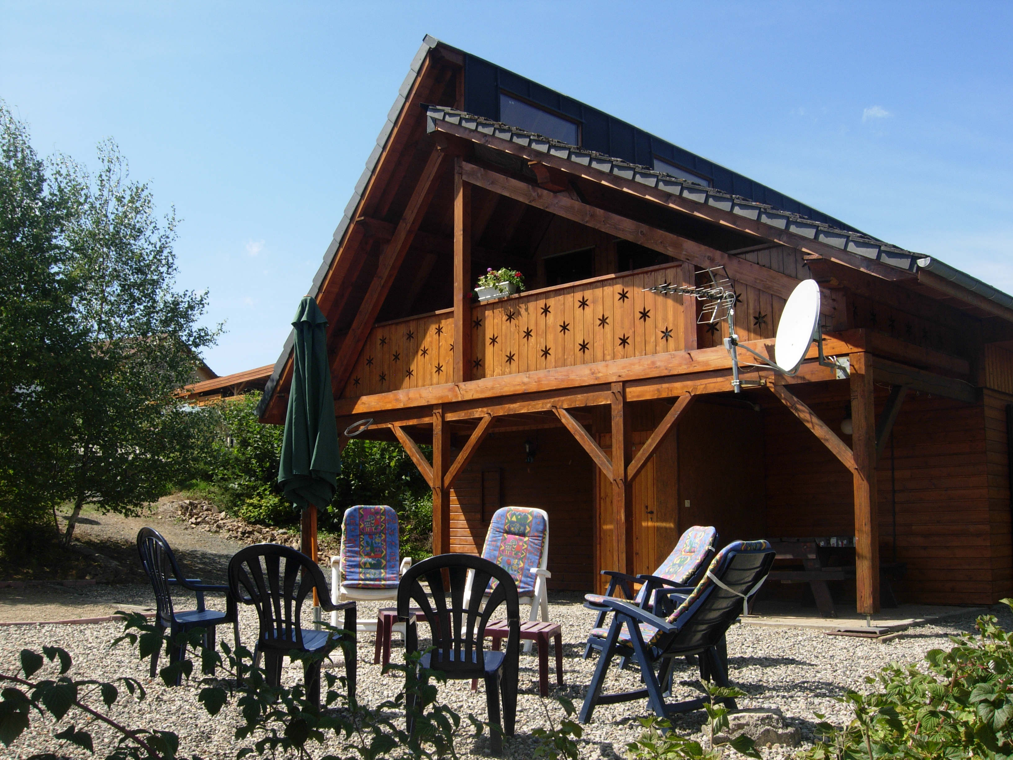 Vue chalet nord