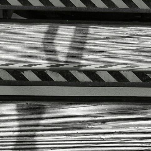 Auf den Stufen