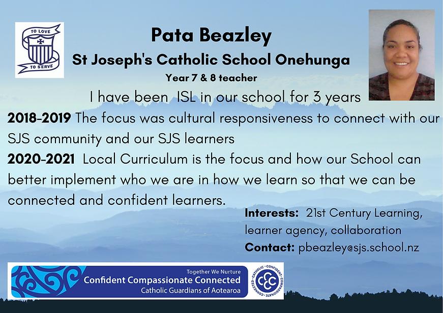 Pata Beazley ISL profile.png