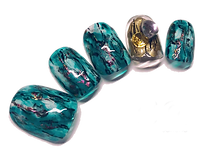 custom made acrylic nail art