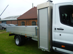 Dropside Body with Tool Box behind the Cab