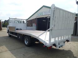 7.5 tonne Beaver Tail with Hydraulic Bi-Fold ramps (2)