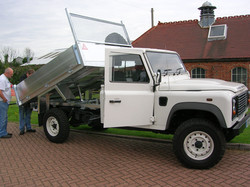 Our Standard Land Rover Tipping Body