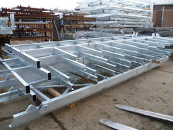 Galvanised Sub-Frames Ready to be Despatched or Assembled