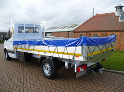 Dropside Body with PVC Cover and Tow Bar
