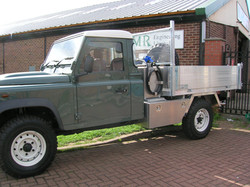 Ali Tipping Body with Stailess Steel Fuel Tank and Ali Tool Boxes